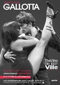 Affiche du Théâtre de la Ville - Paris